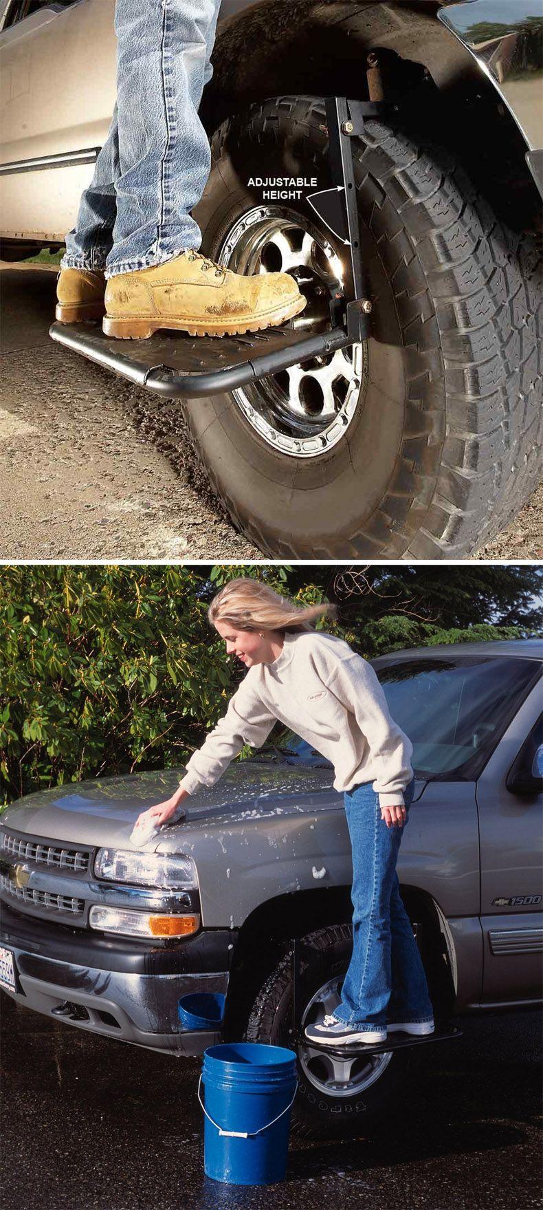 Heininger 4040 Hitchmate Tirestep Truck Accessories Tire Steps Trucks