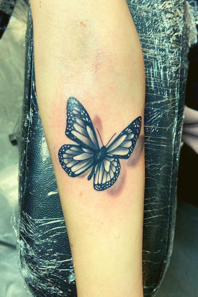 22+ Innovative Stunning Butterfly Tattoo Ideas - Jessica Pins