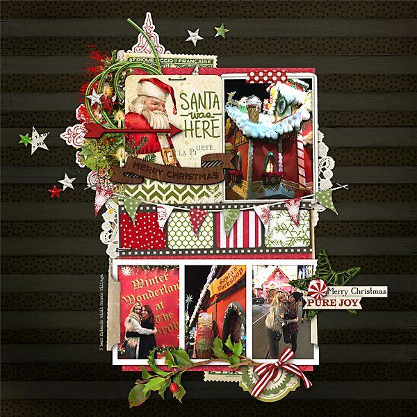 Santa's Village - Digital Scrapbooking Ideas - DesignerDigitals