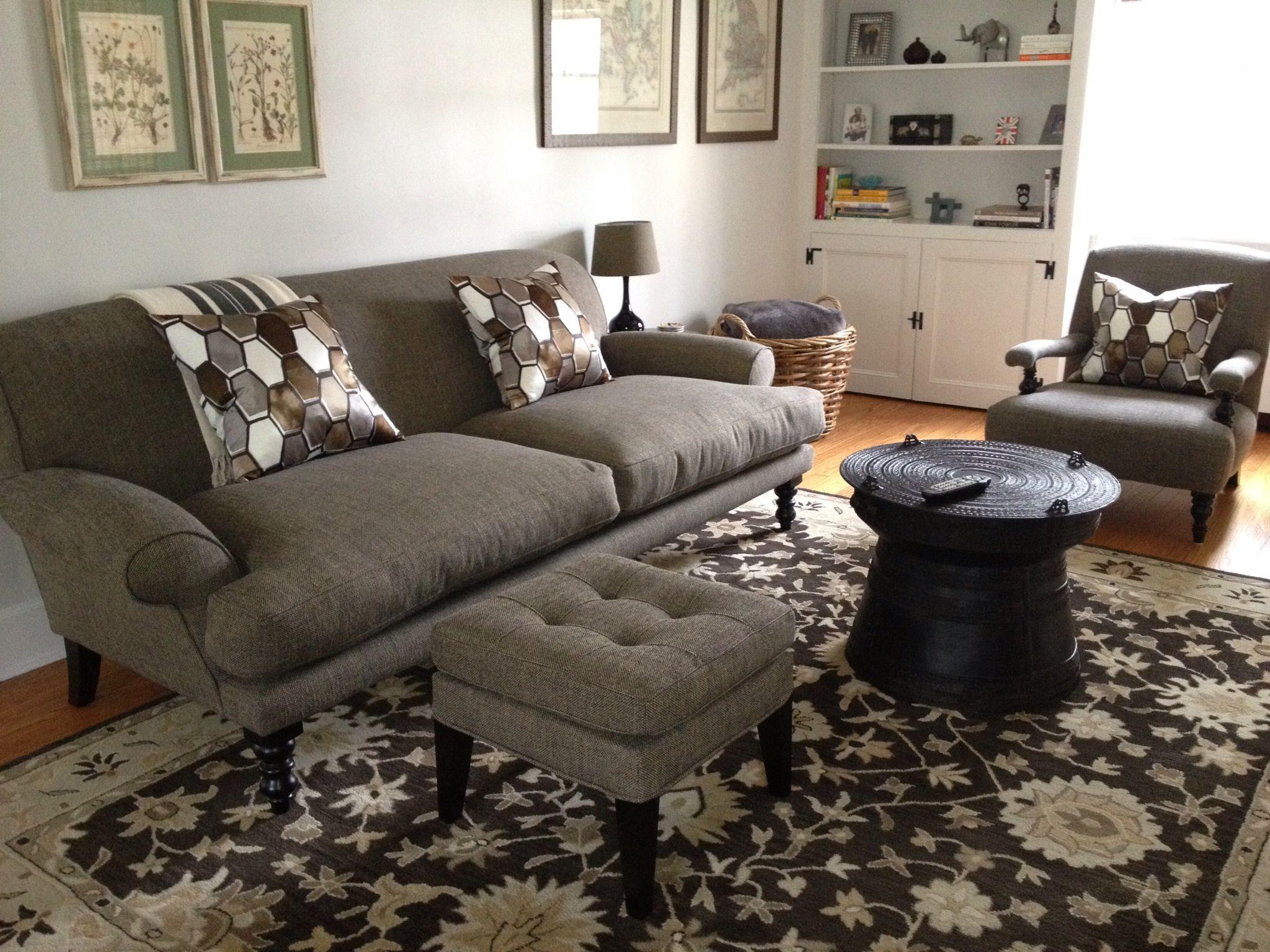 This sofa Saturday sofa Kilkenny armchair and club footstool