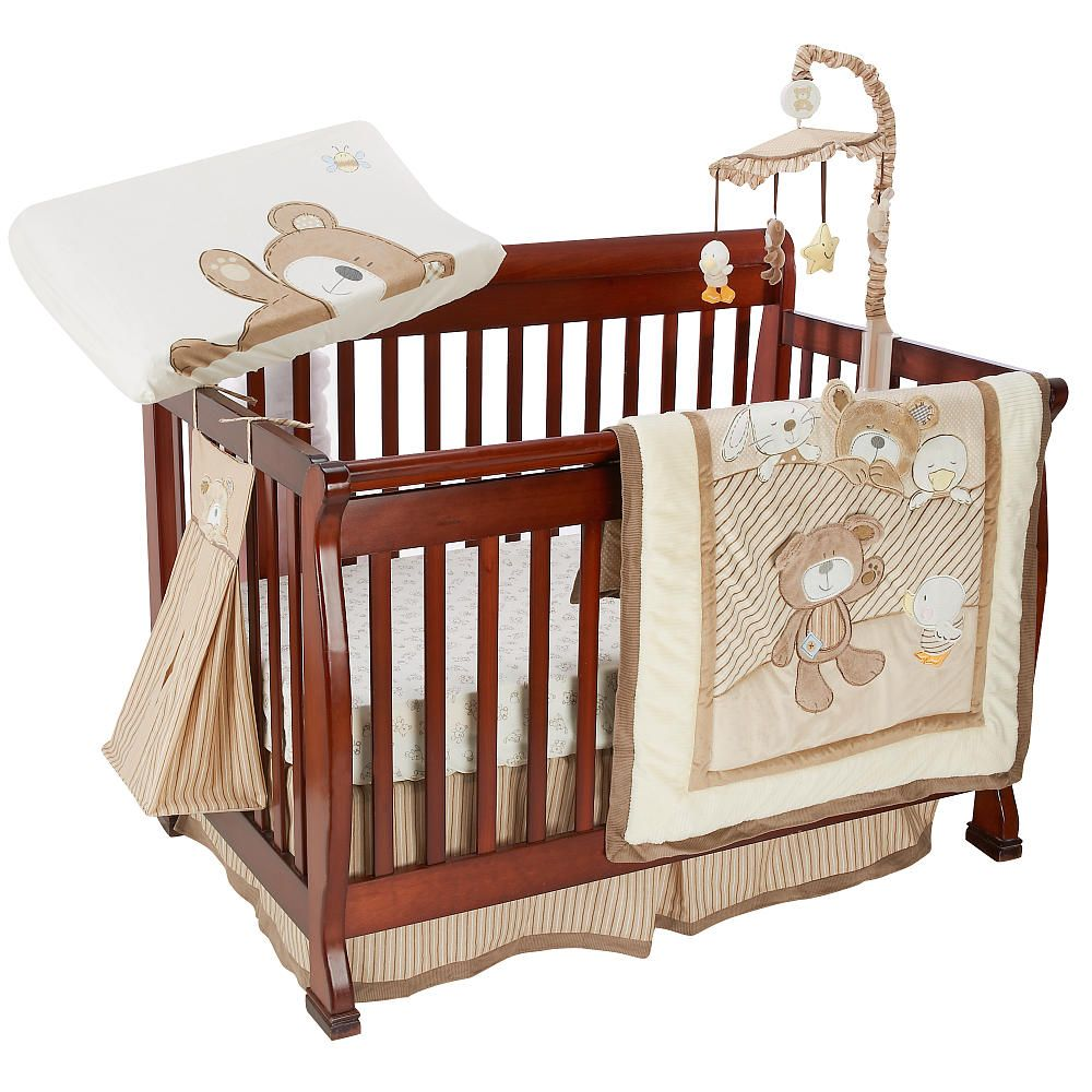 Mobile for crib babies r us - Babies R Us B Is For Bear 6 Piece Crib Bedding Set