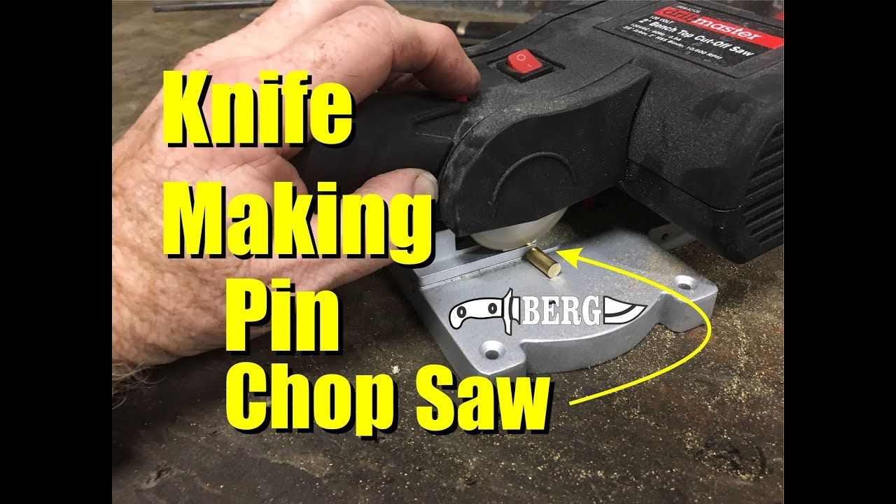 Harbor Freight Mini Chop Saw Product Review For Knife Making