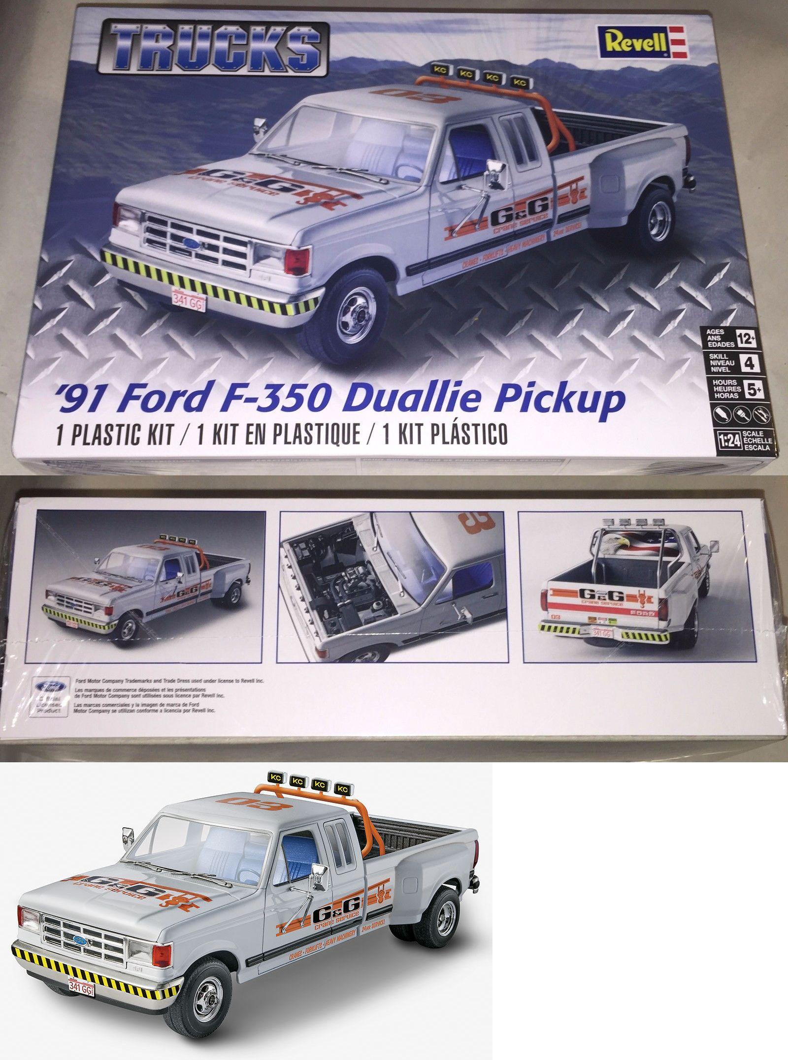 Truck  Ford F  Duallie Pickup Truck   Plastic Model Car Kit New  Buy It Now Only  On Ebay Truck Revell Duallie Pickup
