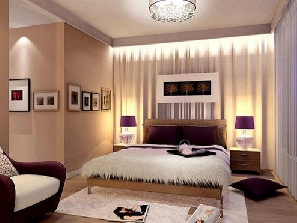 Minimalist [Fabric] yellow fabric of modern bedroom wall paint Indoor View Decoration Decoration Pic Pictures - Lovely Decorating Bedroom Walls Simple Elegant