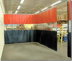 Garage Divider Curtains Akon Curtain And Dividers Custom Made Curtains Garage Industrial Curtains