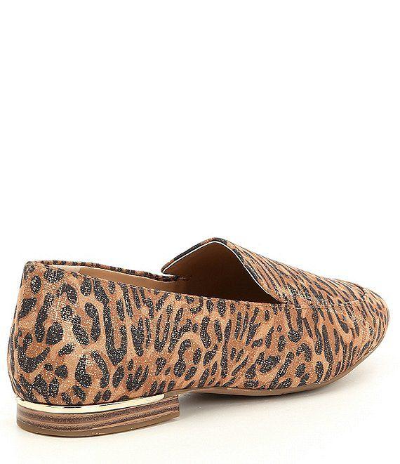 Barson Leopard Print Slip-On Loafers #Sponsored #Leopard
