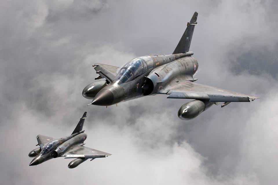 Mirage 2000N, Escadre 2/4 Lafayette, Armée de l'Air, France
