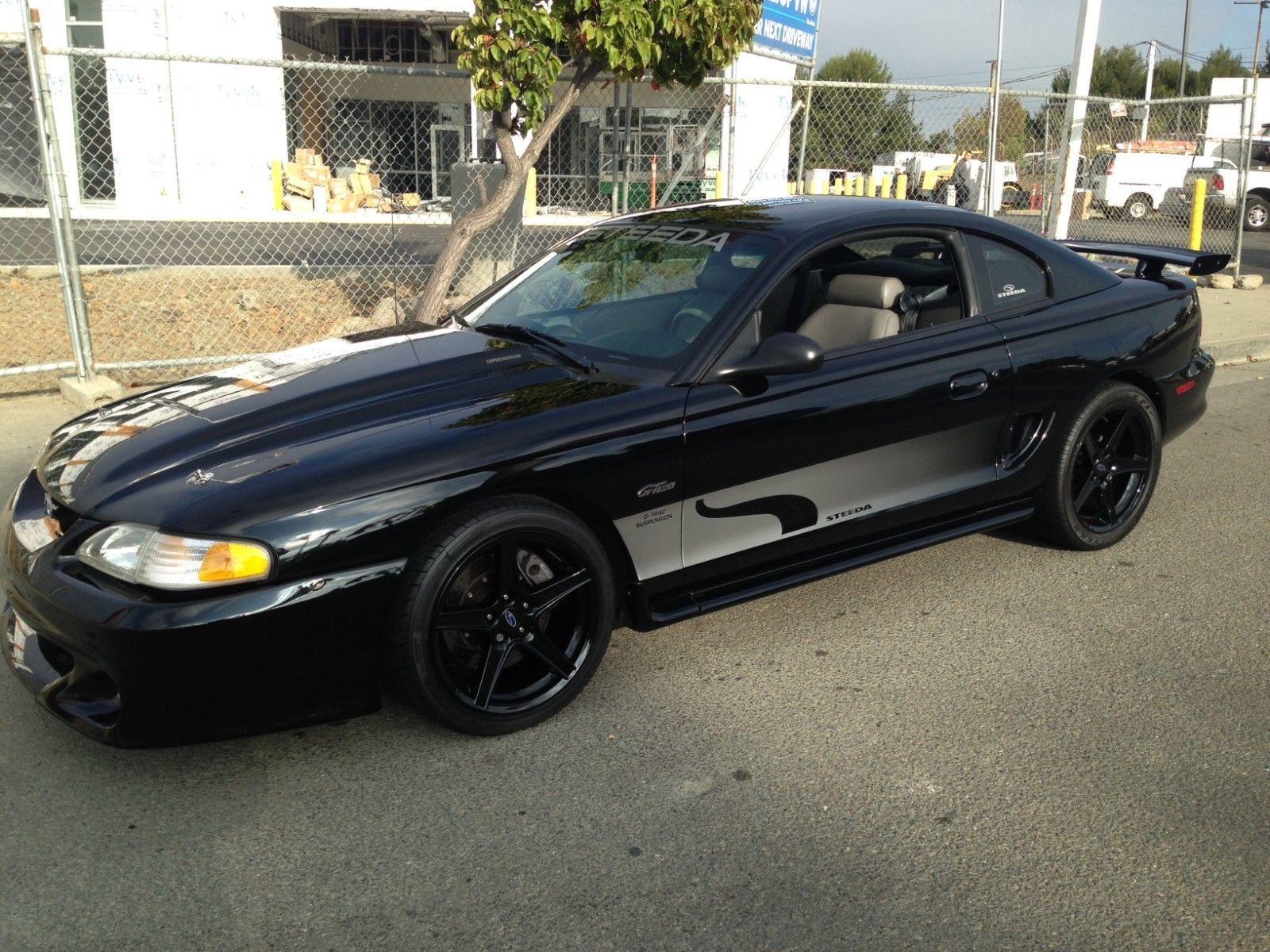 eBay 1997 Ford Mustang Steeda 97 004 1997 STEEDA Mustang GT 97