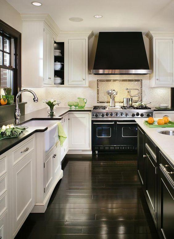 Elegant Kitchen with Dark Countertops