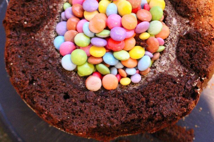 Photo of Smarties Kuchen –  Pinata Kuchen – Geburtstagkuchen für Kinder • Kinderglü…