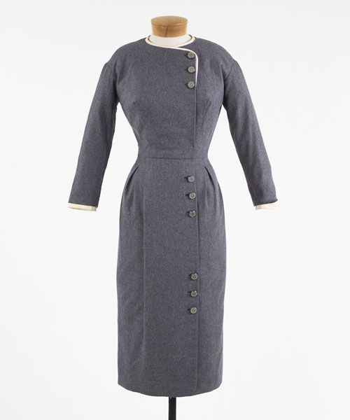 American 1959. Medium Gray Wool