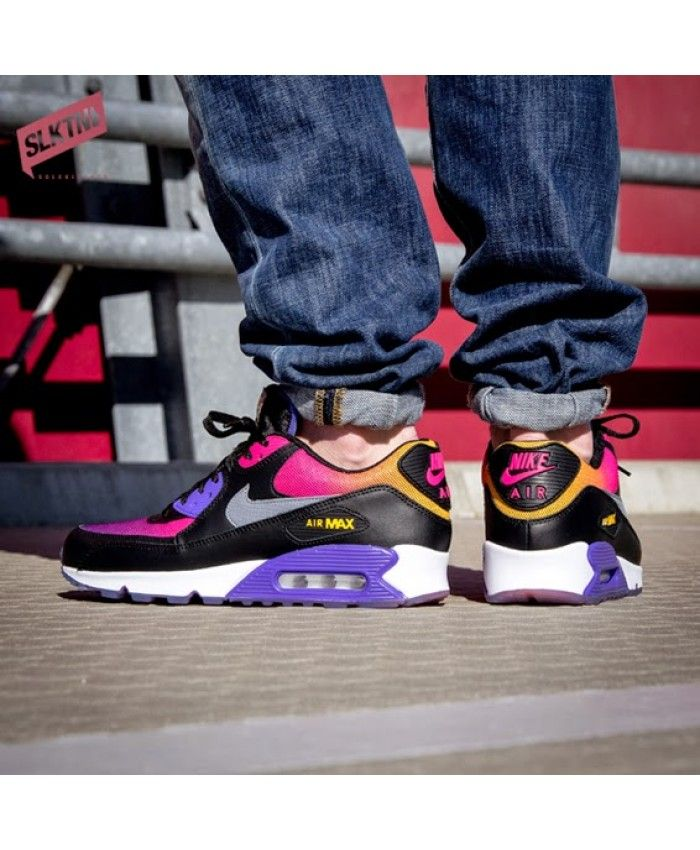 505316d75bd6 Nike Air Max 90 SD Rainbow Black Persian Violet Pink UK
