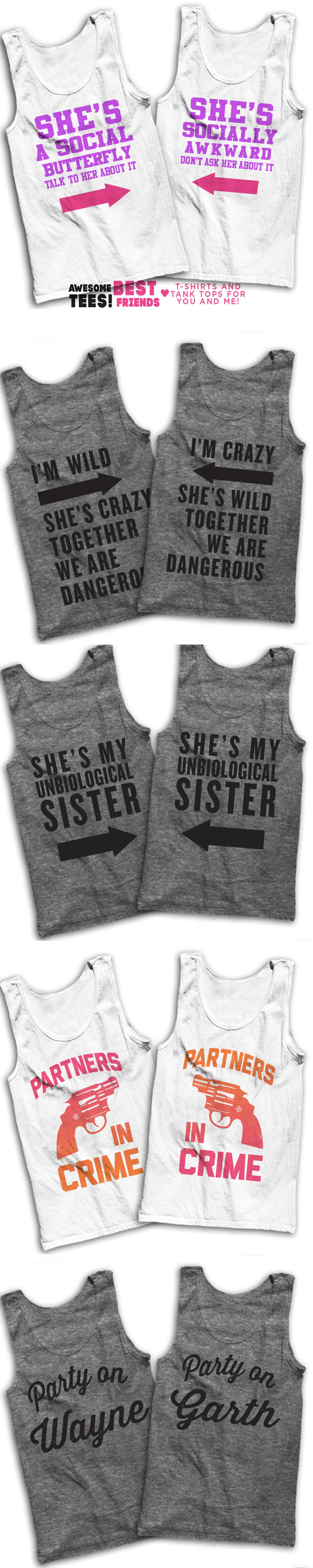 5ec45dbe 5 Awesome Matching T Shirts For You And Your Best Friend! While you're in  check out our sarcastic lazy shirts for that cheat day, or grab a matching  shirt ...