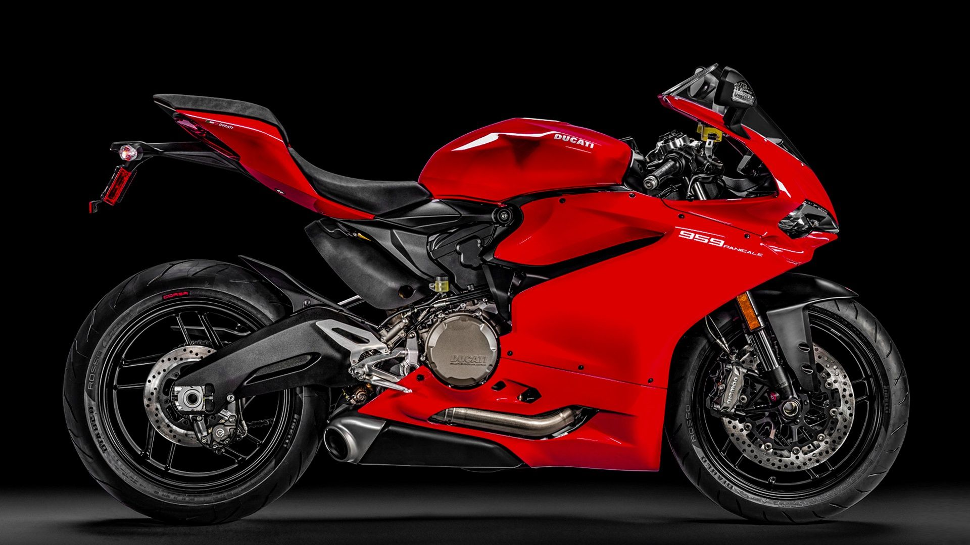 Ducati 959 Panigale with Shotgun Exhaust