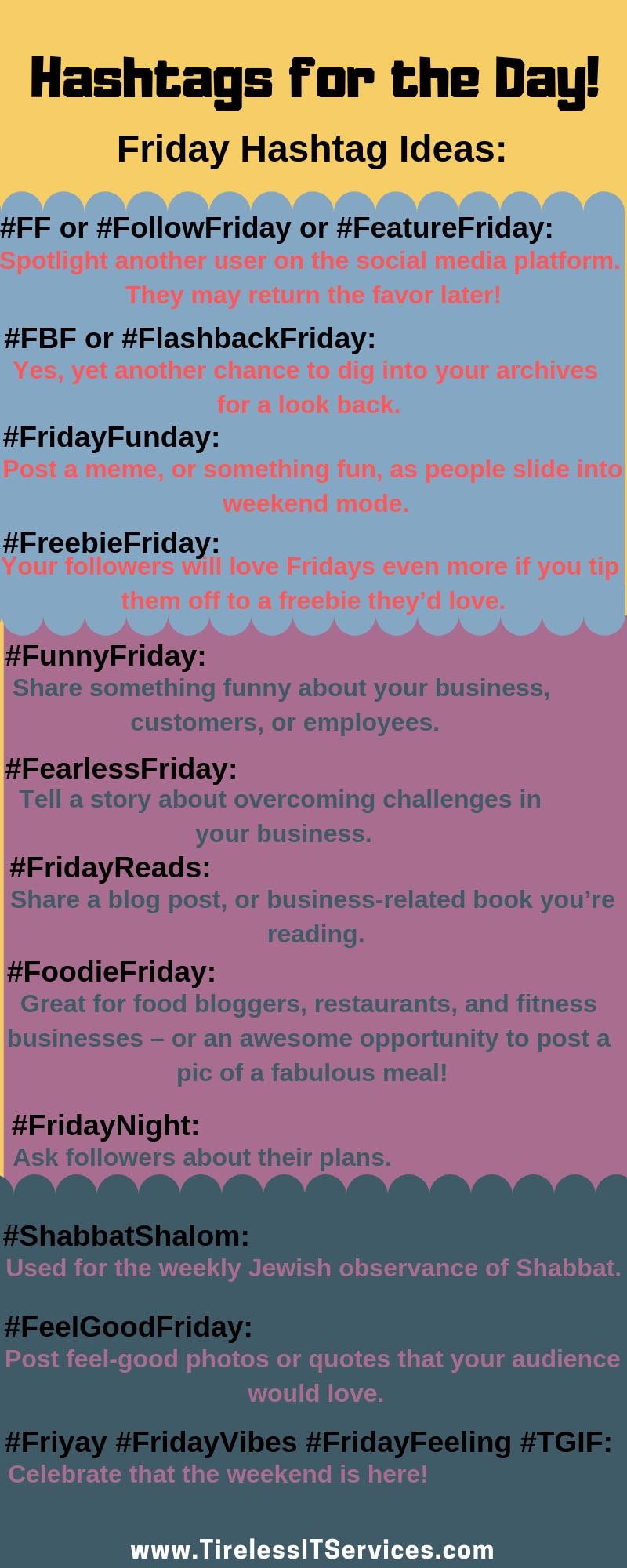Hashtags For The Day Hashtag Ideas Social Media Hashtags Social Media Engagement