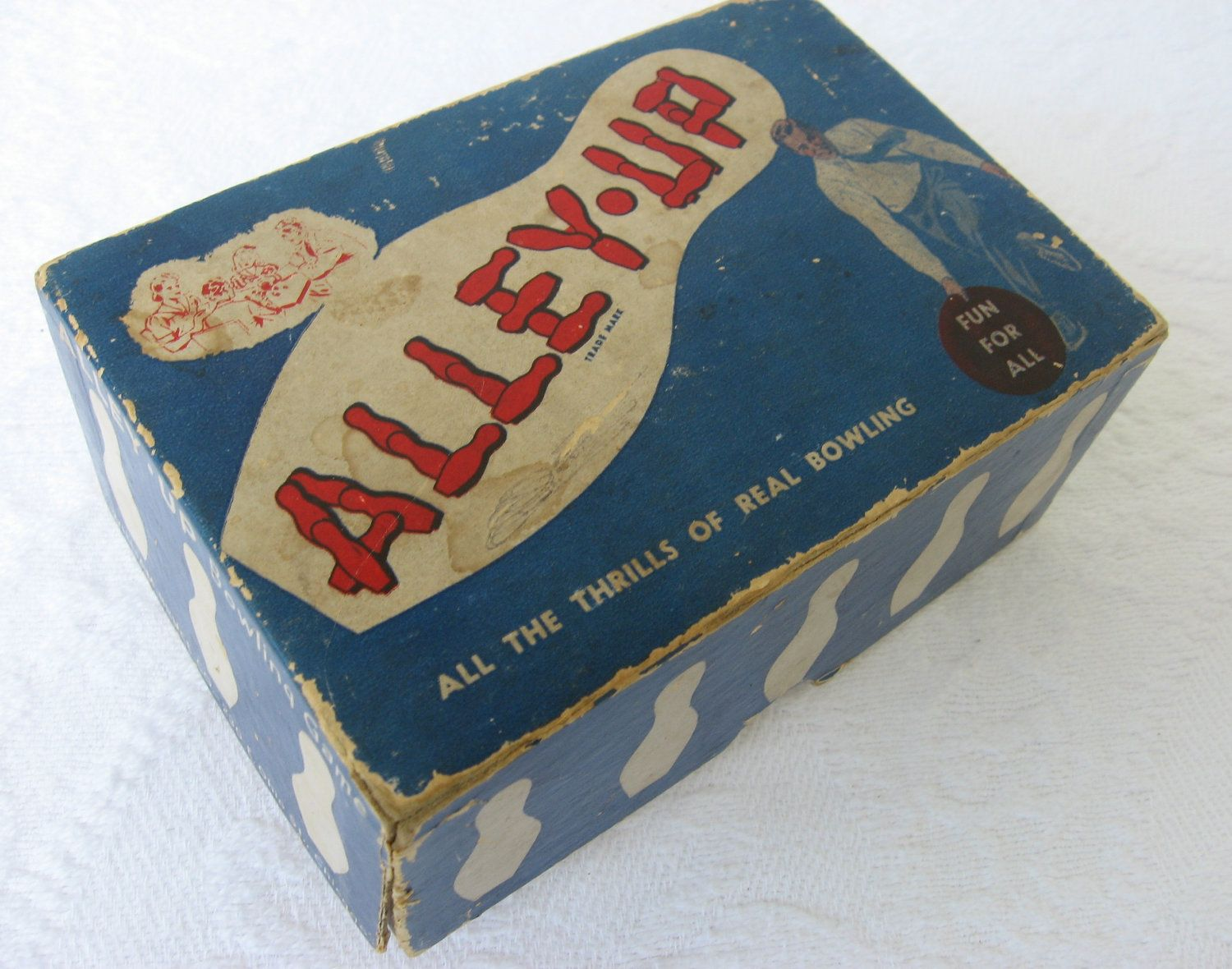 Vintage Alley Up Bowling Game Bowling, Bowling games
