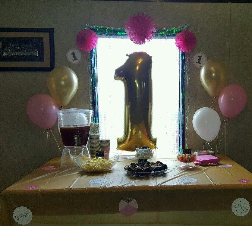 1st Birthday Room Decoration Ideas