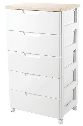 Elegant 5 Drawer Storage Cabinet