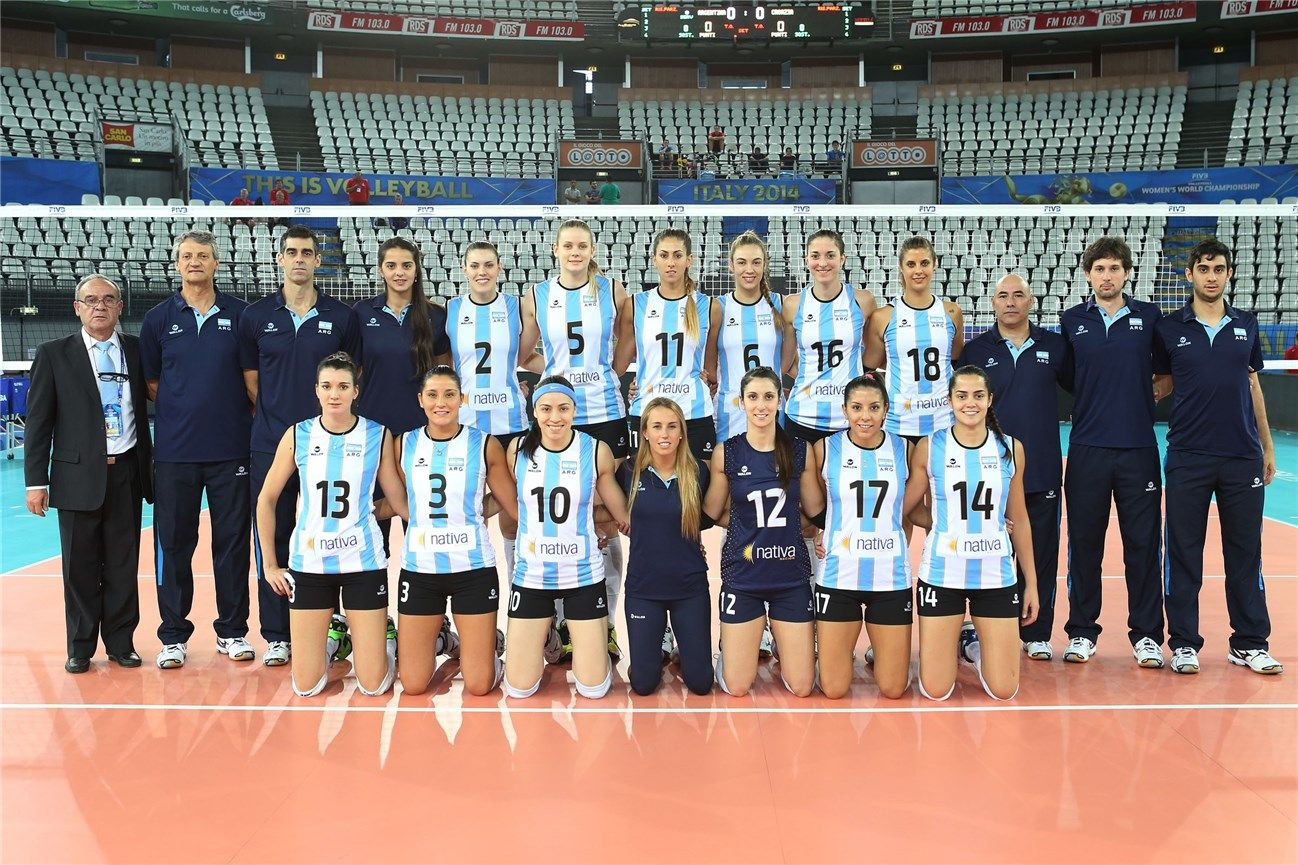 Argentina 2014 Women Volleyball Volleyball Players Volleyball