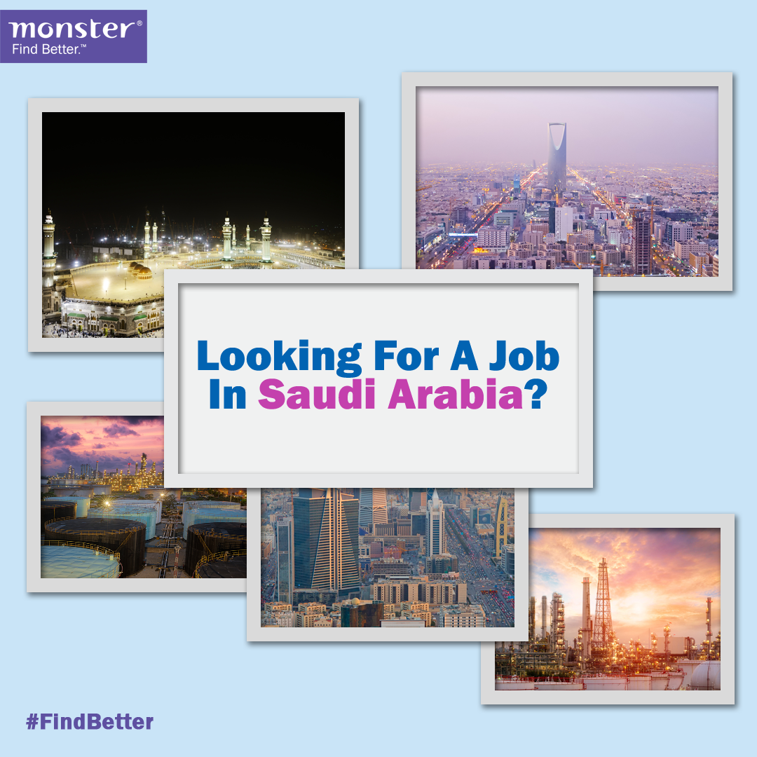 Looking for a job in Saudi Arabia? Click Visit Jobs for