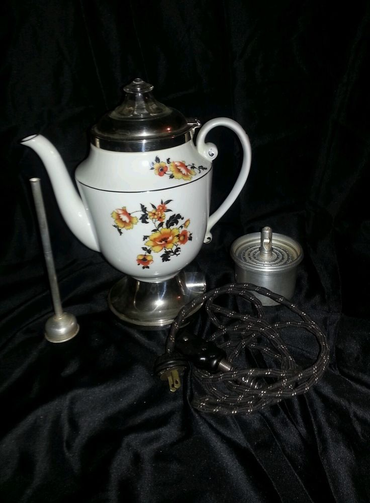 Early 1900s royal Rochester coffee percolator