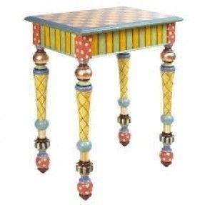 Amazing Mackenzie Childs Inspired Furniture