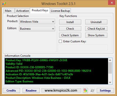 windows toolkit 2.6 как пользоваться