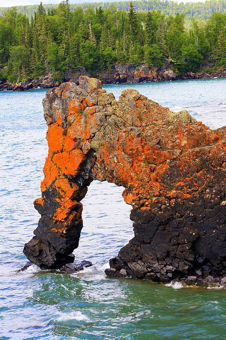 Sea Lion Rock Formation at Sleeping Giant Provincial Park