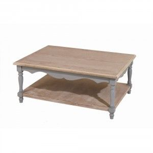 Table basse double plateau 100x70cm CALIE