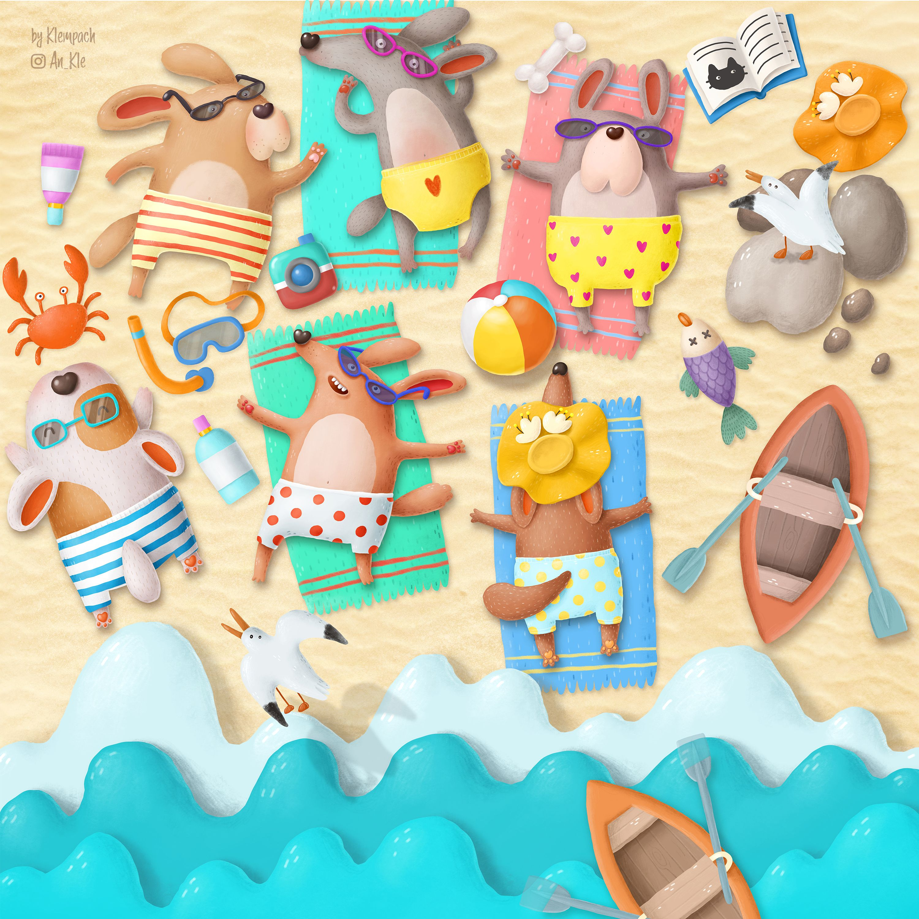 Just a dog friendly beach Get this and see more in my shop