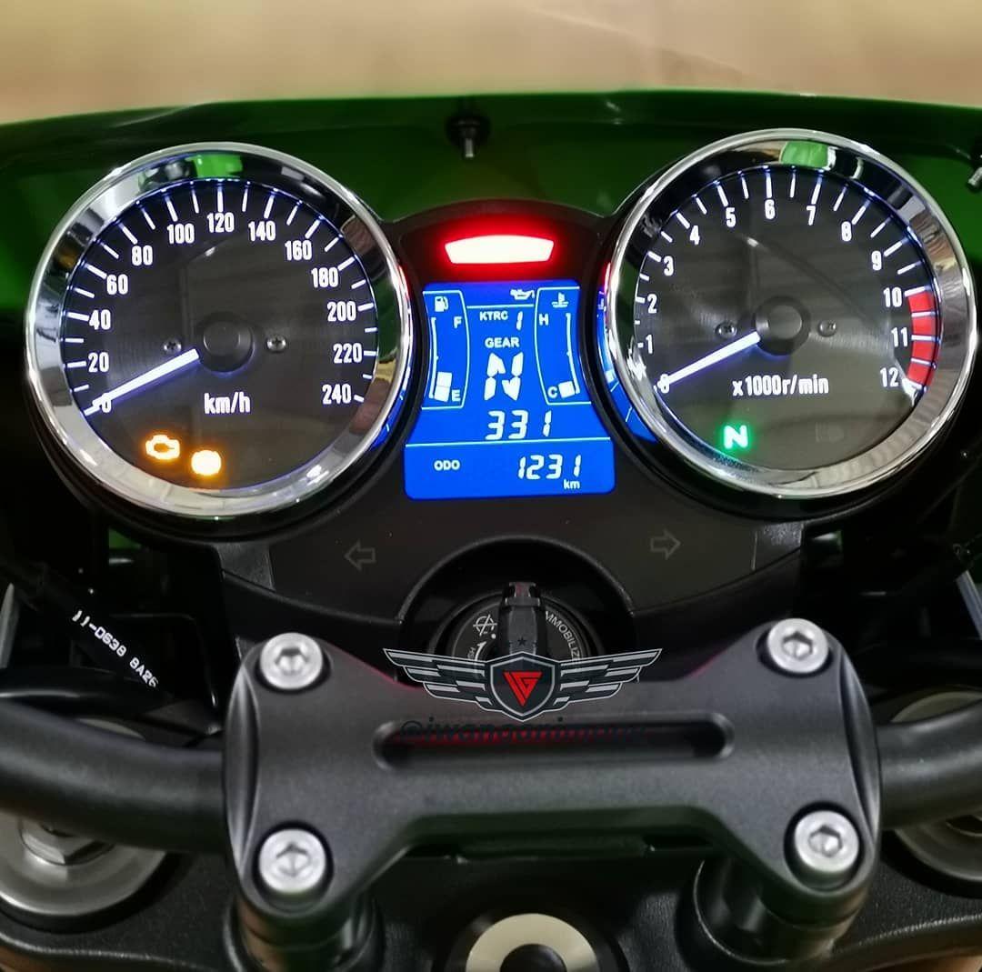 Anget masih 1200 km pembelian Agustus 2018 : Kawasaki Z900 RS