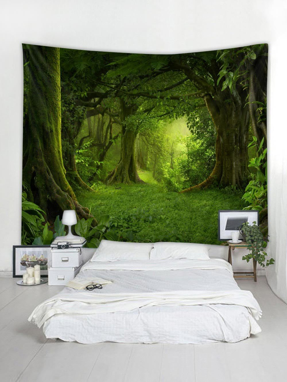 dcdcb809b6 DressLily.com  Photo Gallery - Forest Pattern Wall Tapestry Decoration
