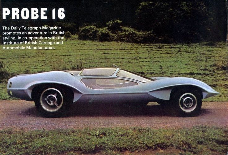 1969 Probe 16 1960s Cars With Images Concept Cars Unique