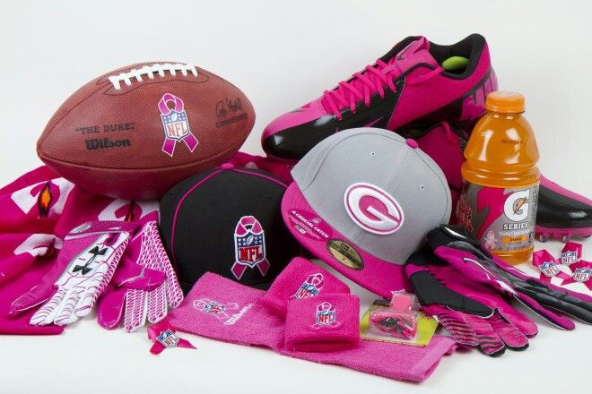 9a416ee2be4 NFL pink gear