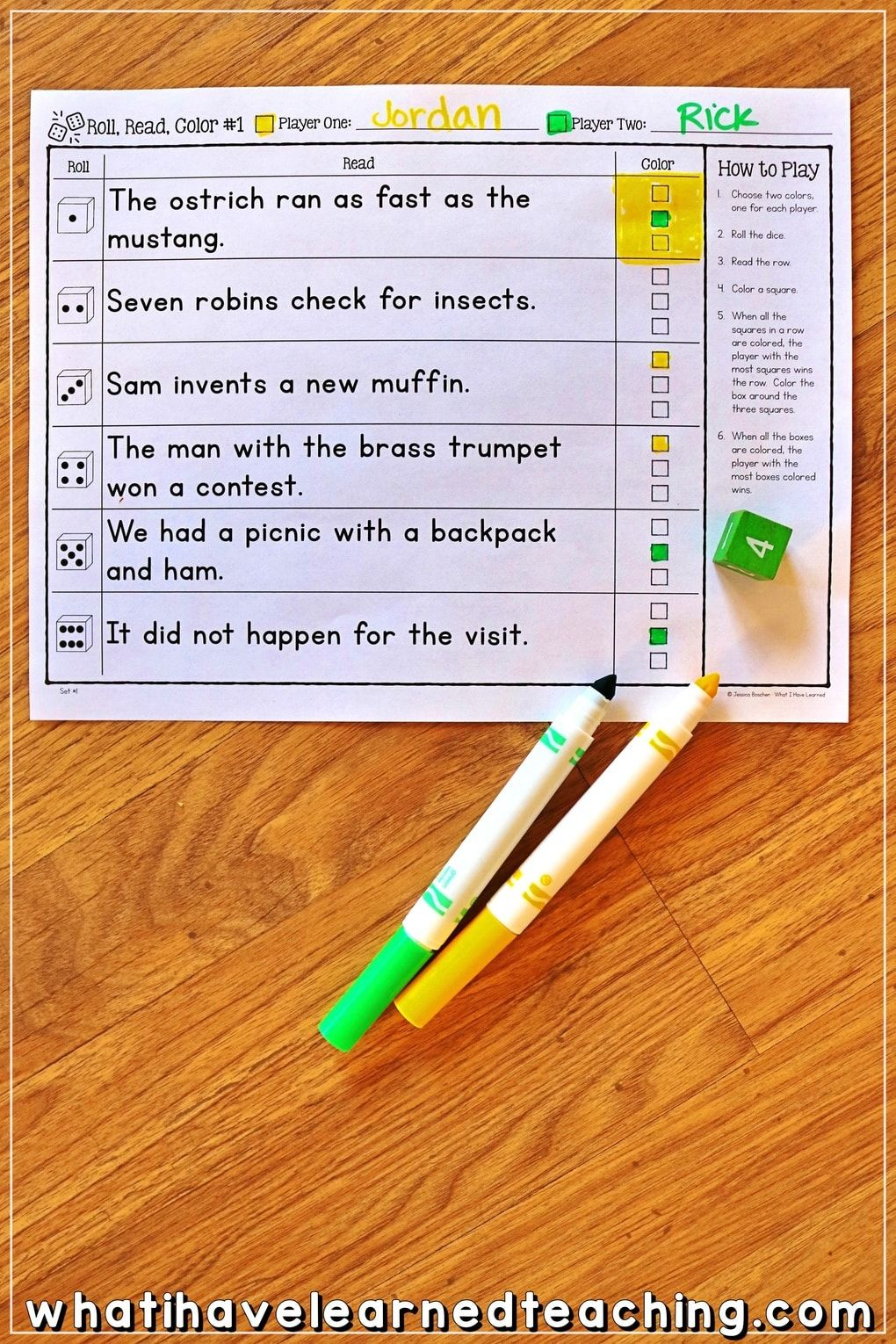 Partner Phonics Games For Decoding Two Syllable Words Phonics Multisyllabic Words Phonics Passages