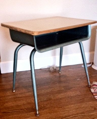 vintage school desk by farallon on etsy 40 00 this brings back