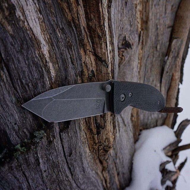 «Alpha. Maker - @tomkrein Owner/photo - @coupeusn #grailknives #usnstagram #usnfollow #knife #knifeporn #kreinknives #alpha»