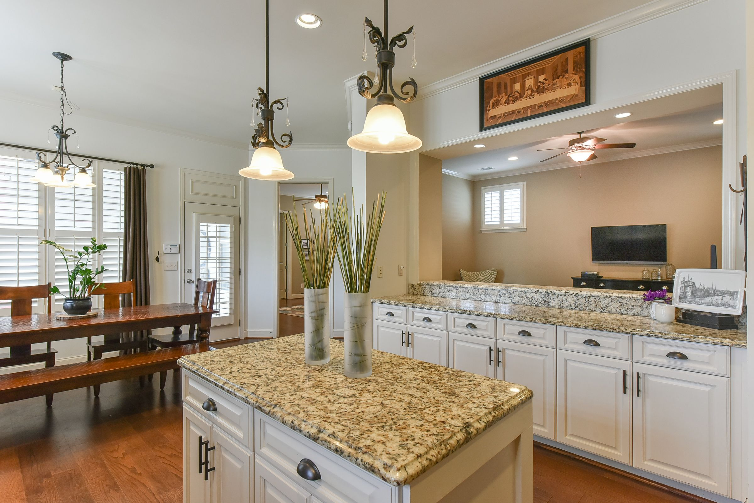 Mix in some rustic elements to your more formal kitchen to ...