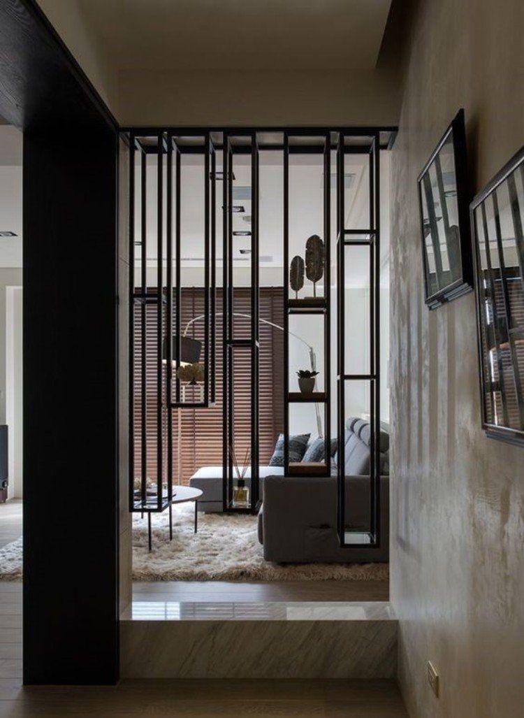 s parateur de pi ce design minimaliste en 50 id es insolites et cr atives tour jaccuzzi. Black Bedroom Furniture Sets. Home Design Ideas