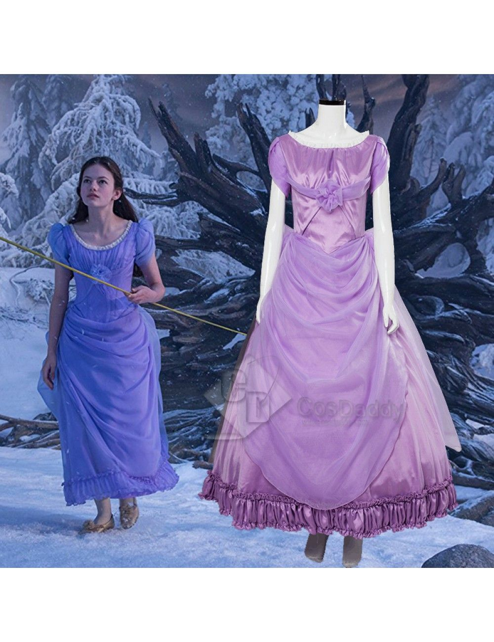 The Nutcracker And The Four Realms Clara Cosplay Costume  c5899a3d4bf3