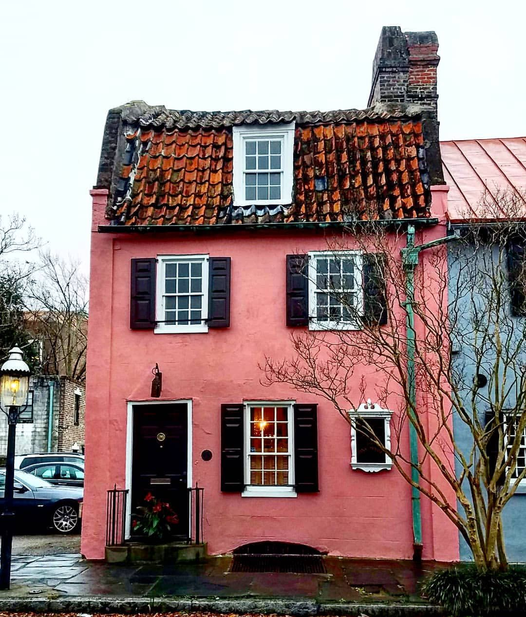 Pin By Britt On Aa American Castles Pink Houses Historic Home