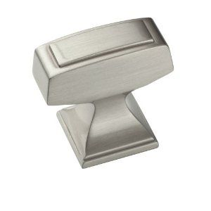 amerock rectangle block knob bathroom remodel pinterest