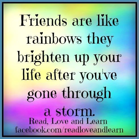 Friendship Quote Via Readloveandlearn