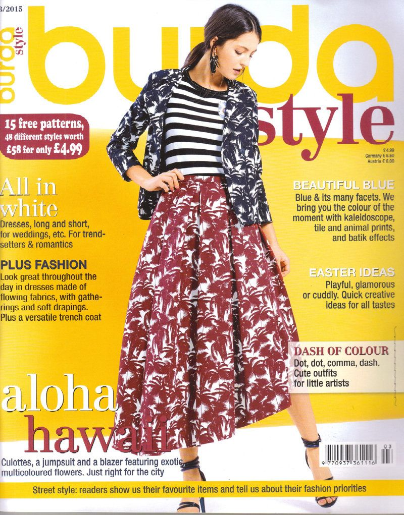 Burda style magazine 32015 english sewing patterns by burda style magazine 32015 english sewing patterns by honeyjamsuniques on etsy jeuxipadfo Image collections