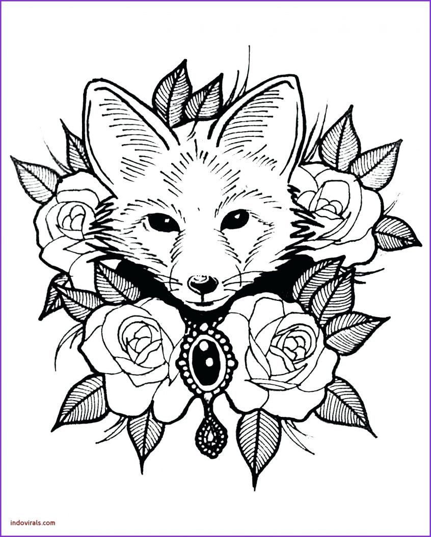 Printable Animal Coloring Sheets Coloring Books Printable Animal Pages Captain Marvelous Fox Coloring Page Zoo Animal Coloring Pages Animal Coloring Books [ 1055 x 846 Pixel ]