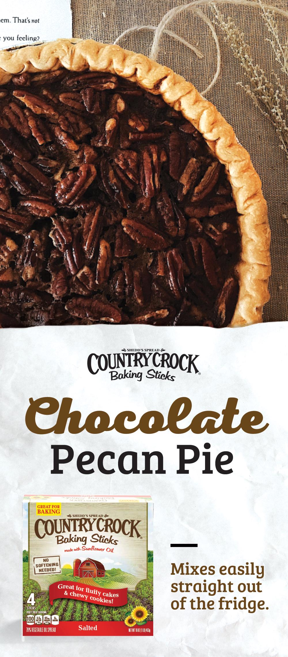 Chocolate Pecan Pie Recipe in 2018 Thanksgiving