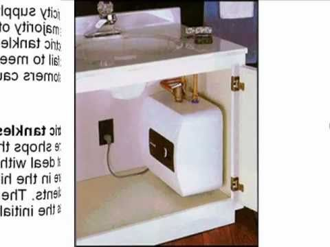 The Drawbacks Of Electric Tankless Water Heaters - YouTube