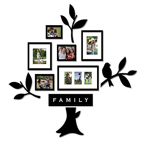 Wallverbs™ Family Tree 11-Piece Frames and Plaques Set | Home ...