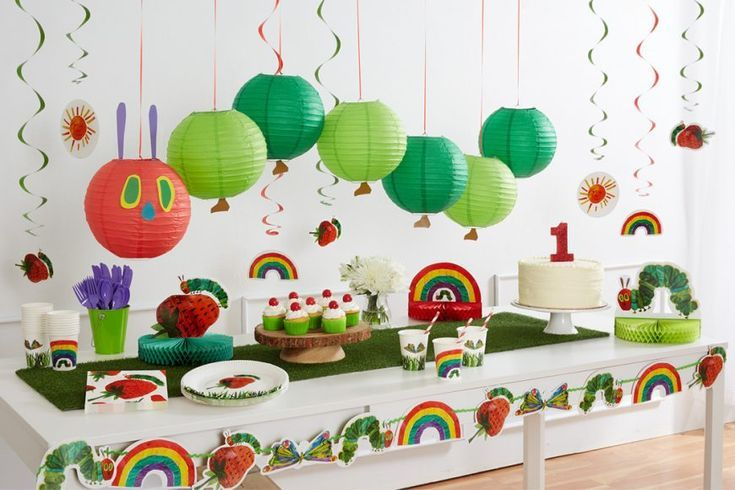 The Very Hungry Caterpillar Party Ideas - Voleta P. #boybirthdayparties