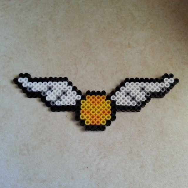 Golden Snitch Harry Potter Perler Beads By Jennifermariez Hamma Gorgeous Harry Potter Perler Bead Patterns